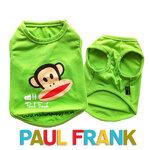 เสื้อกล้ามหมา Paul Frank สีเขียว ไซส์ 2