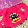 (พร้อมส่ง) เสื้อกันหนาวสุนัข Paul Frank สีชมพู