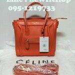 กระเป๋าแบรนด์เนม Celine  size 12 นิ้ว No.CE030