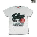 เสื้อยืดชาย Lovebite Size M - Tokyo Metropolis