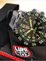 Luminox 3059 evo navy seal colormark series หน้าปัดสีเขียว ใช้งานจริงกับหน่วย U.S. Navy Seals