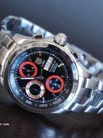 นาฬิกา TAGHeuer Link Calibre16 Day Date หน้าปัดสีแดง ระบบ Automatic รุ่นพิเศษ หายากมากๆ