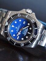 นาฬิกา Rolex Deepsea D-Blue Dial หน้าปัดสีน้ำเงิน ดำ รุ่นใหม่ล่าสุด งานเนียนสุดเทพ ละเอียดสวยมากๆ