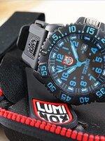 Luminox 3059 evo navy seal colormark series หน้าปัดสีน้ำเงิน ใช้งานจริงกับหน่วย U.S. Navy Seals