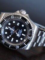 นาฬิกา Rolex Deepsea หน้าปัดสีดำ รุ่นใหม่ล่าสุด งานเนียนสุดเทพ ละเอียดสวยมากๆ