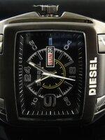 นาฬิกา Diesel Bugout หน้าปัดสีดำ สายเลสสีลมดำด้าน งานเกรด Mirror เทห์สุดๆ
