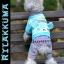 (พร้อมส่ง) ชุดกันหนาวสุนัขสี่ขา คุมะ สีฟ้า thumbnail 1