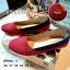 Lacoste collection รองเท้าทรงแฟลตพื้นแบรนด์ logo thumbnail 1