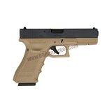 Glock17 Gen4 WE ทูโทน สีทราย สไลด์ดำ
