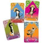 Cat Yoga Postcards โปสการ์ดแมวฝึกโยคะ 32 ใบ/ชุด