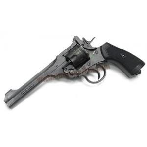 ปืนลูกโม่ Webley MKVI เวอร์ชั่น ทำเก่า CO2 6mm - WG
