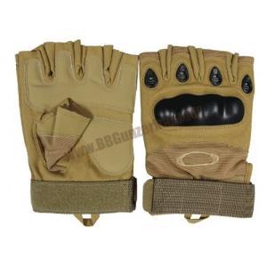 ถุงมือครึ่งนิ้ว Oakley Factory Pilot สีทราย