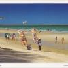 โปสการ์ด หาดชะอำ จังหวัดเพชรบุรี /ทะเล/ชายหาด/แม่ค้าขายของเล่น