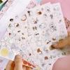 (6 แผ่น/ชุด) สติ๊กเกอร์ Kawaii Molang Potato Rabbit vers.2