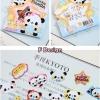 (70 ชิ้น/ชุด) สติ๊กเกอร์ Cute Animal Stickers in a Pocket (F Design)