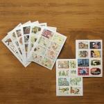 (2 แผ่น/ชุด) แสตมป์สติ๊กเกอร์ Ancien Stamp Sticker ver.2