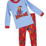 ชุดนอนเด็ก (งานส่งออก USA) ลาย Spiderman สีฟ้า-แดง แขนยาว