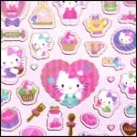 (1แผ่น/ชุด) สติ๊กเกอร์ Sanrio Smiles - Hello Kitty (a)