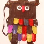 กระเป๋านกฮูก สะพายข้าง Owl Bag ขนาด 28 x 32 ซม.