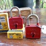กุญแจเก่าเก็บ jagat anil สมัยคุณตา คุณยายยังเด็กจากอินเดีย หายาก ใช้งานได้