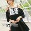 ( พร้อมส่งเสื้อผ้าเกาหลี) เดรสผ้าชีฟองสีขาว/ดำ ประดับดอกไม้สไตล์คลาสสิก ตัวนี้ดูเป็นสาวหวานแอบเซ็กซี่ น่ารักมากๆ ชายกระโปรงตัวนี้ไม่สั้นไม่ยาว สามารถใส่เป็นเดรสสั้นเดี่ยวๆหรือใส่เป็นเสื้อเข้ากับท่อนล่างก็ได้ค่ะ ช่วงไหล่เป็นสายเดี่ยว ตัดต่อมีแขนสั้น เผยไหล thumbnail 3