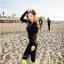 SM-V1-588 ชุดว่ายน้ำแขนยาว กางเกงขายาวสามส่วน สีดำขอบสีเขียวส้ะท้อนแสง เซ็ต 4 ชิ้น (บรา+บิกินี่+เสื้อแขนยาวซิปหน้า+กางเกงสามส่วน) thumbnail 10