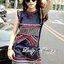 Lady Kim Tribal Embroidered Cotton Dress L199-79C03 thumbnail 5