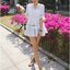 Lady Brie Feminine Flared Sleeve Embroidered with Frill Dress thumbnail 10