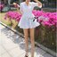 Lady Brie Feminine Flared Sleeve Embroidered with Frill Dress thumbnail 8