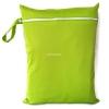 ถุงผ้ากันน้ำ 1 ช่อง Size: L (หูจับกระดุม) i3 -สีพื้น เขียวอ่อน