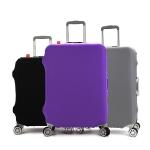 (สีพื้นเรียบ ขนาด XL) ผ้าคลุมกระเป๋าเดินทาง ขนาด 29 - 32 นิ้ว มี 3 สีให้เลือก (ดำ ม่วง เทา)