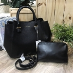 CHARLES & KEITH LARGE CITY BAG WITH CLUTCH