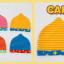 AP182••เซตหมวก+ผ้ากันเปื้อน•• / ดาว [สีชมพู-ฟ้า] thumbnail 6