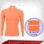 เสื้อรัดกล้ามเนื้อ รุ่น Quick Dry มีรูระบายอากาศ สีส้ม orange thumbnail 1