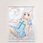 Sayori - New Illustration B2 Wall Scroll: Vanilla / Pajama(Pre-order)