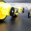 โครงรถ หุ่นยนต์ 4WD สีใส smart car chassis 1 ชั้น thumbnail 7