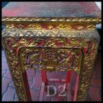 ตั่งหรือโต๊ะหมู่บูชา(เดี่ยว) งานเก่า 25x51x95cm.