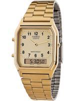 Casio นาฬิกาข้อมือ รุ่น AQ-230GA-9B (สีทอง)