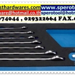 11PC REVERSIBLE RATCHETING COMBINATION WRENCH SET