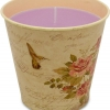 Filled Candle in Flower Bucket Size S