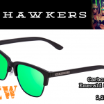 Hawkers Carbon Black Emerald One (O-02)