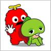 Gachapin & Mukku