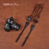 สายคล้องกล้องปรับสายสั้นยาวได้ Cam-in รุ่น Ninja สีน้ำตาลริ้วทอง 38 mm