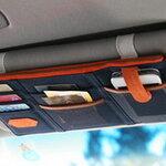 กระเป๋าเก็บของติดม่านบังแดดในรถ