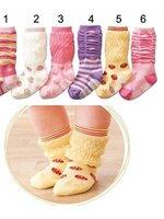 ถุงเท้าแฟชั่นกันหนาว 1-3 ขวบ Sk09