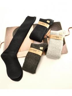 SC112-50 ถุงเท้ายาว กันหนาว Lamps Wool ทอเนื้อแน่น ใส่อุ่นสบาย size 24-28 CM สำหรับเด็กโต-ผู้ใหญ่