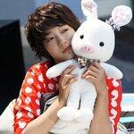 ตุ๊กตาหมูกระต่าย ของโกมีนัมจากซีรี่ย์เรื่องดัง u're beautiful ขนาด 55 CM