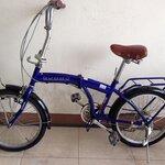จักรยานพับ 6 เกียร์ RHC 206