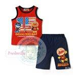 ชุดเสื้อกล้าม+กางเกง Anpanman EA04
