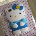 ** พร้อมส่งค่ะ ** เคส Hello Kitty 3D iPhone 4/4s สีฟ้า